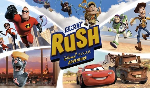 [VIDEO] BOOM Provides Sound Design For KINECT RUSH (Microsoft/Disney•Pixar)