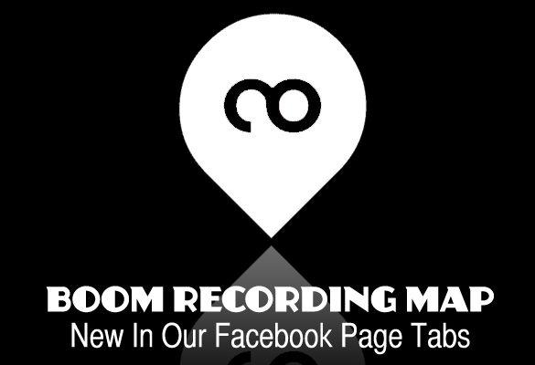 BOOM RECORDING MAP