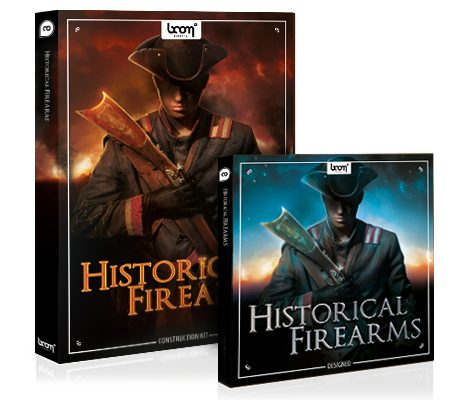 NEW SFX LIBRARY HISTORICAL FIREARMS PRE-RELEASED