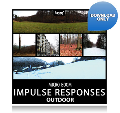 """NEW SFX LIBRARY """"IMPULSE RESPONSES – OUTDOOR"""" RELEASED"""
