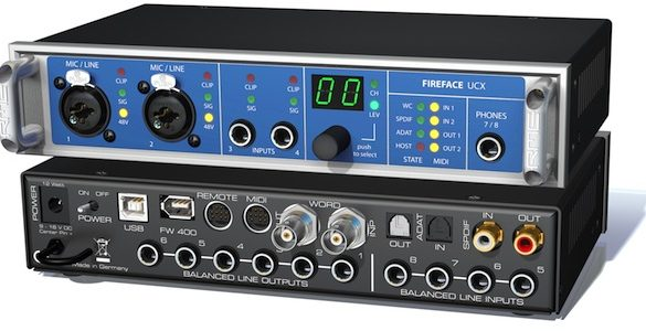 [BOOM TOOLS] 10 questions about the RME Fireface UCX