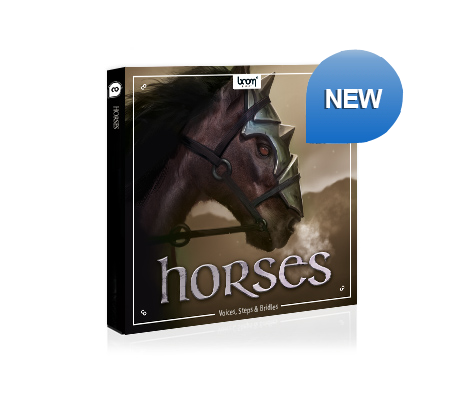 NEW SFX LIBRARY RELEASED – HORSES
