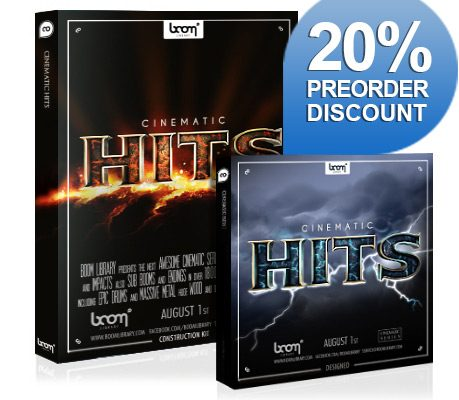 """[VIDEO] NEW SFX LIBRARY """"CINEMATIC HITS"""" PRE-RELEASED"""