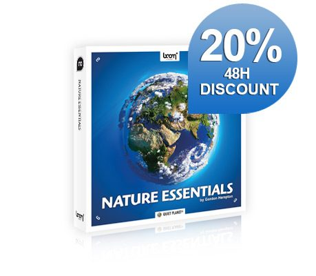 NEW SFX LIBRARY RELEASED – NATURE ESSENTIALS