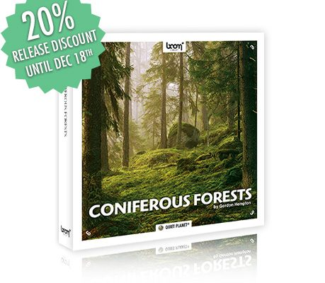 [NEW RELEASE] CONIFEROUS FORESTS – NATURE AMBIENCES