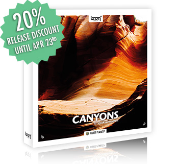 [NEW RELEASE] CANYONS