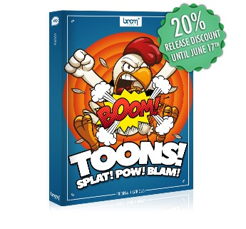 [NEW RELEASE] BOOM TOONS