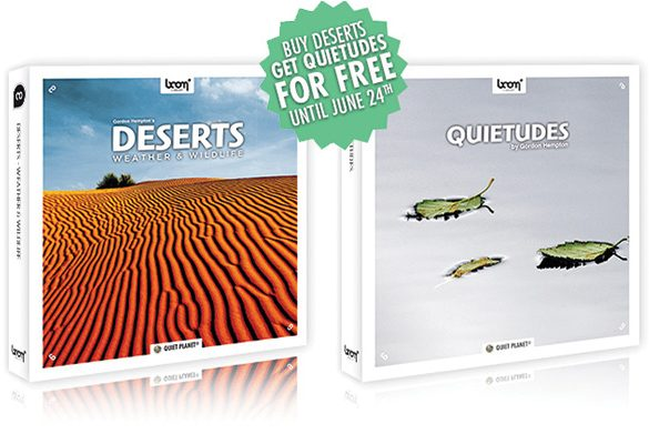 [2 NEW RELEASES] DESERTS • QUIETUDES