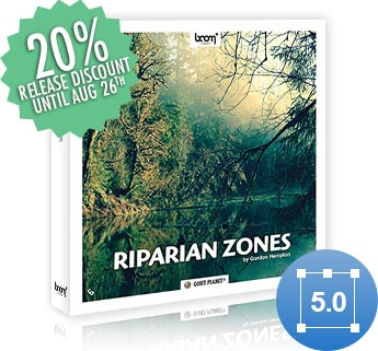 [NEW RELEASE] RIPARIAN ZONES