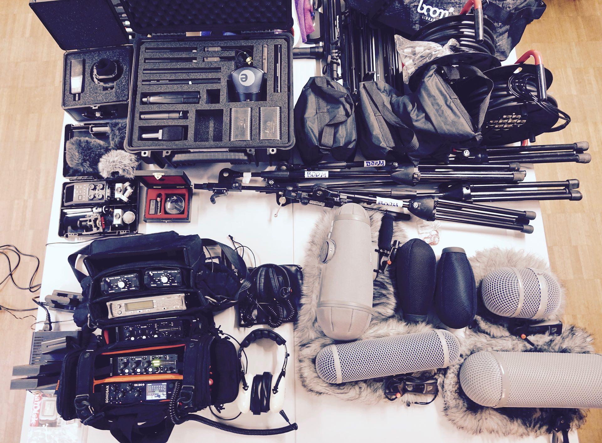 BOOM LIBRARY DAW : Field Recording Equipment Walk Through
