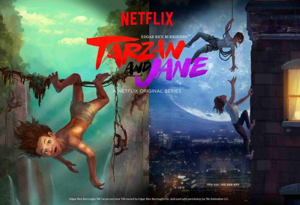 [NEWS] BOOM SOUNDS USED IN NETFLIX SERIES TARZAN AND JANE