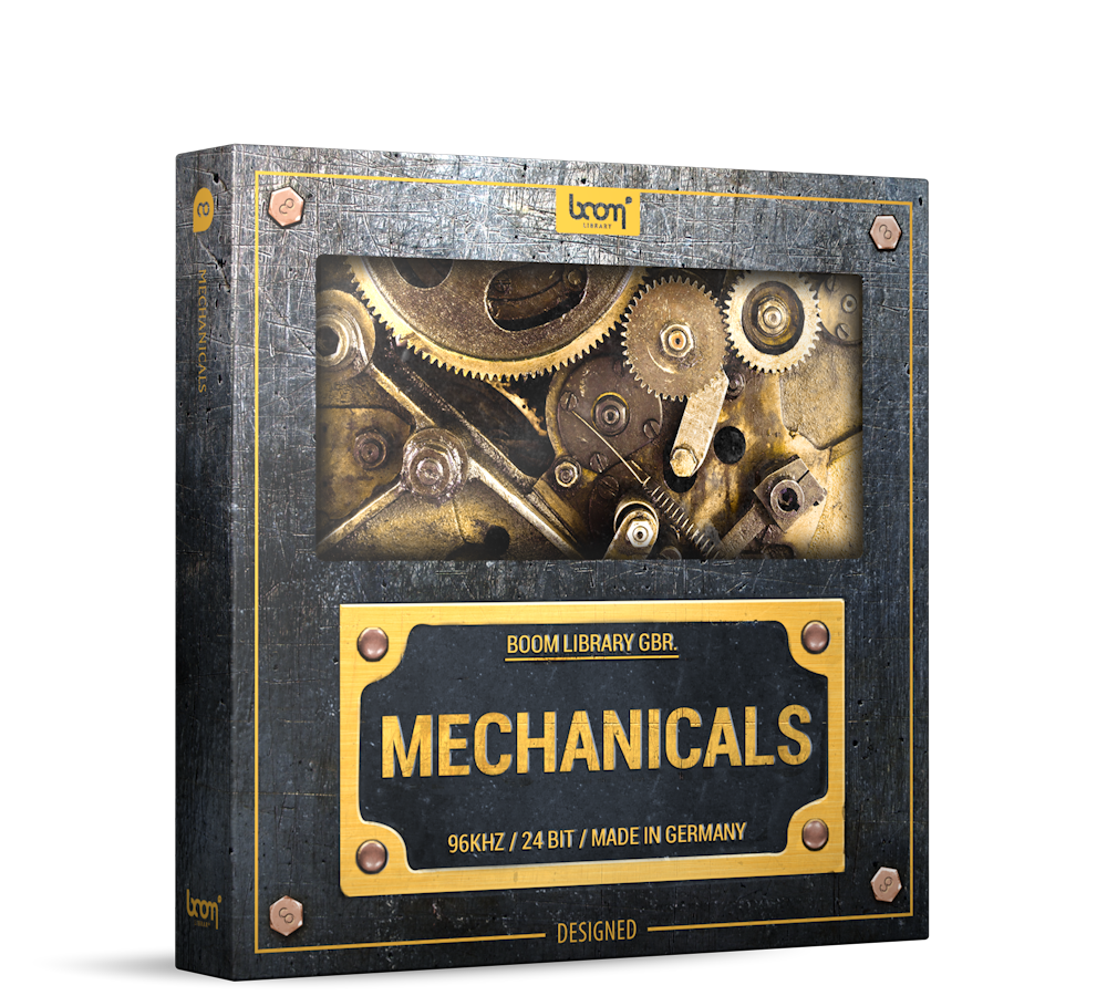 Mechanical Sound Effects Library Product Box