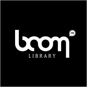 BOOM Library Logo Black Round