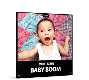 Baby Boom Sound Effects Library Product Box