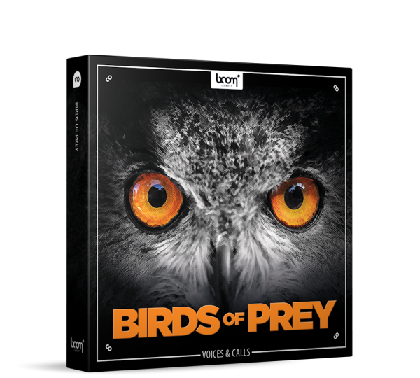 Birds Of Prey Sound Effects Library Product Box