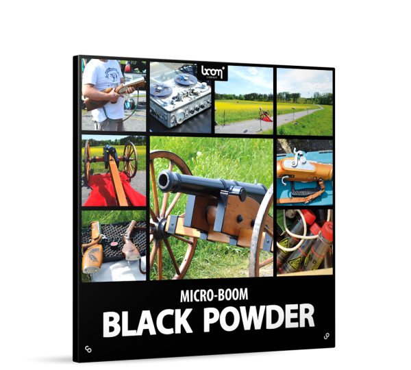 Black Powder Sound Effects Library Product Box