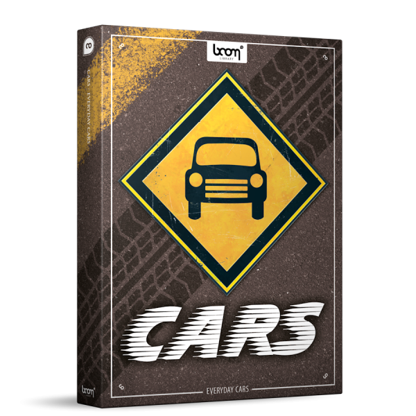 Everyday Cars Sound Effects Library Product Box