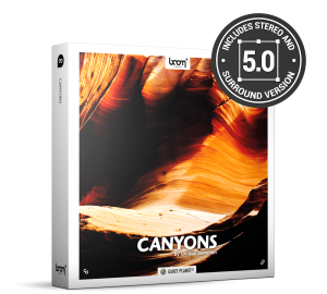 Canyons Nature Ambience Sound Effects Library Product Box
