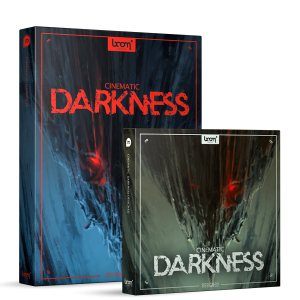 Cinematic Darkness Sound Effects Library Product Box