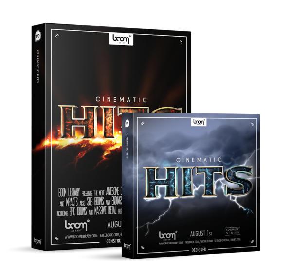 Cinematic Hits Sound Effects Library Product Box