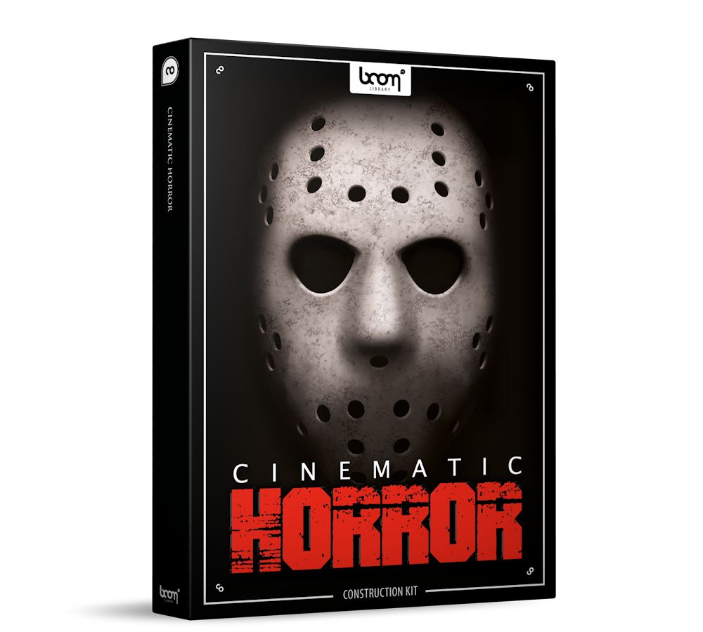 Cinematic Horror Sound Effects Library Product Box