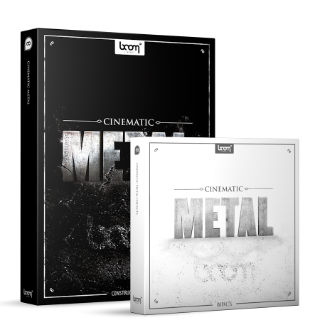 Cinematic Metal Sound Effects Library Product Box