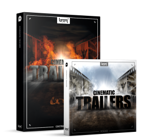Cinematic Trailers Sound Effects Library Product Box