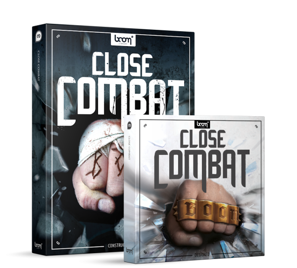 Close Combat Fight Sound Effects Library Product Box