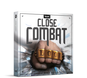 Close Combat Sound Effects Library Product Box