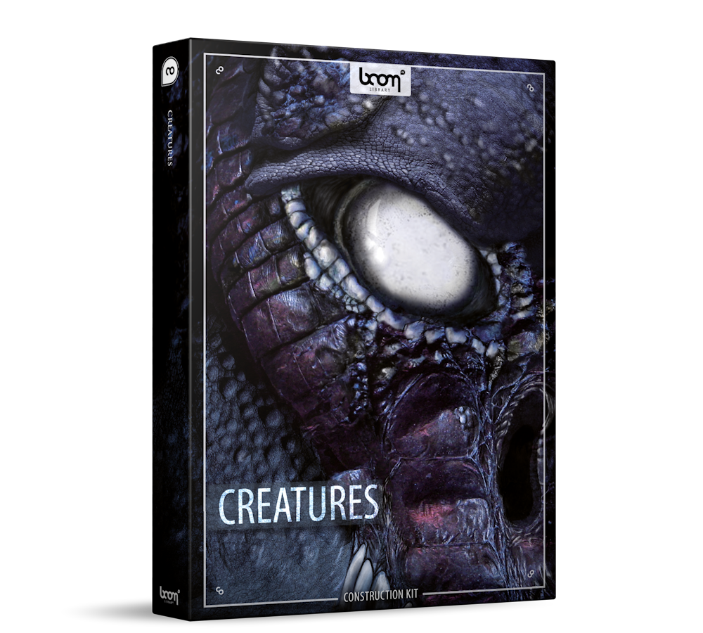 Creatures Sound Effects Library Product Box
