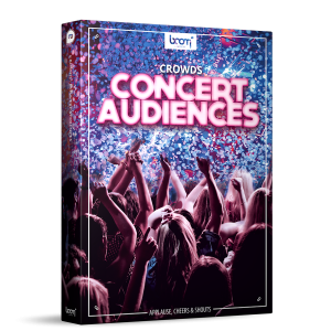 Crowds Concert Audiences Sound Effects Library Product Box