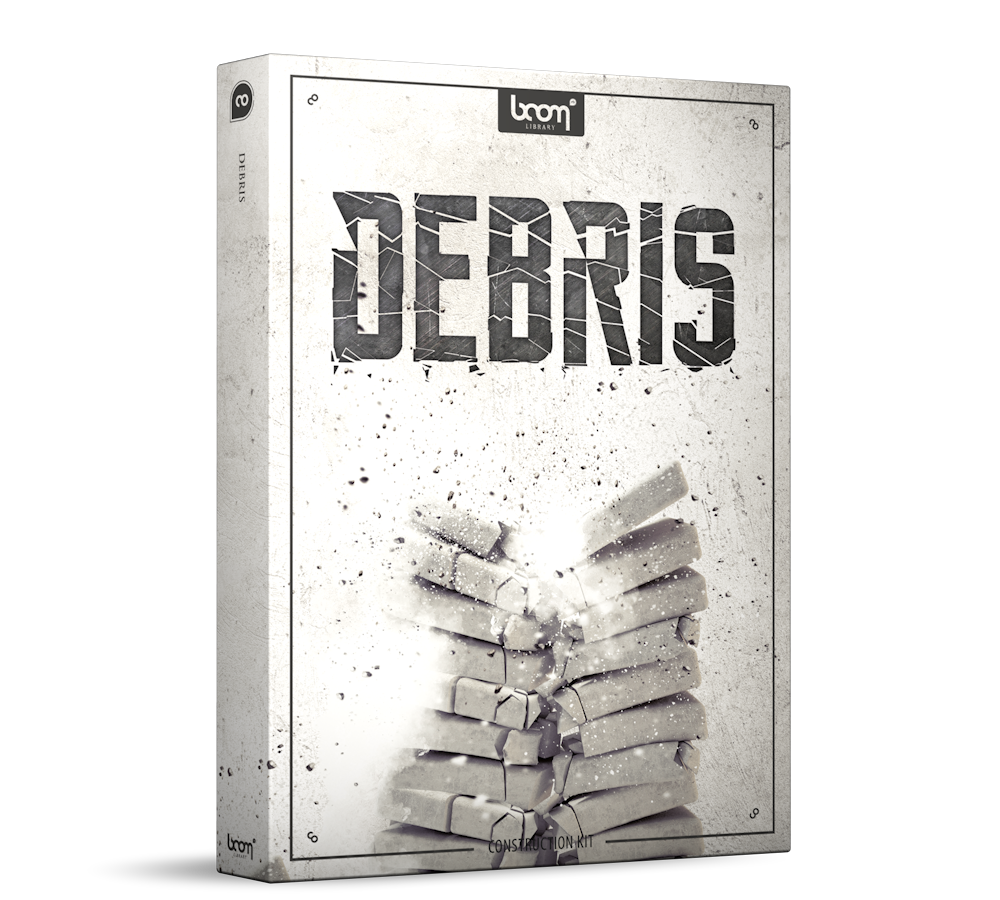 Debris Sound Effects Library Product Box