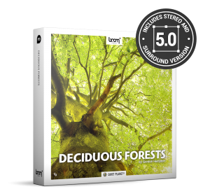 Deciduous Forests Nature Ambience Sound Effects Library Product Box