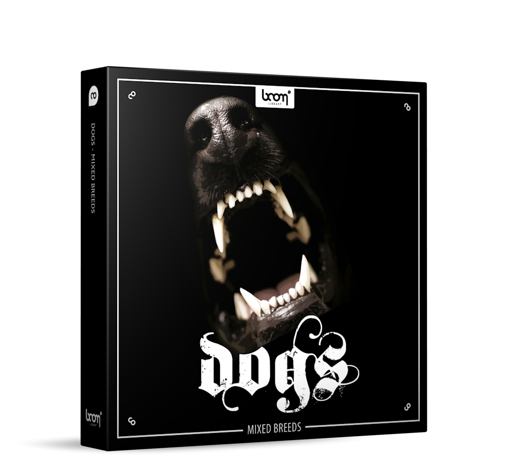 Dogs Sound Effects Library Product Box