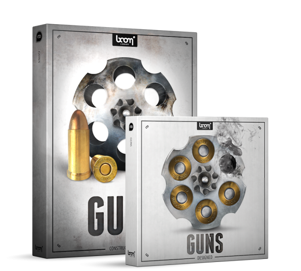 Guns Sound Effects Library Product Box - Gun Sounds