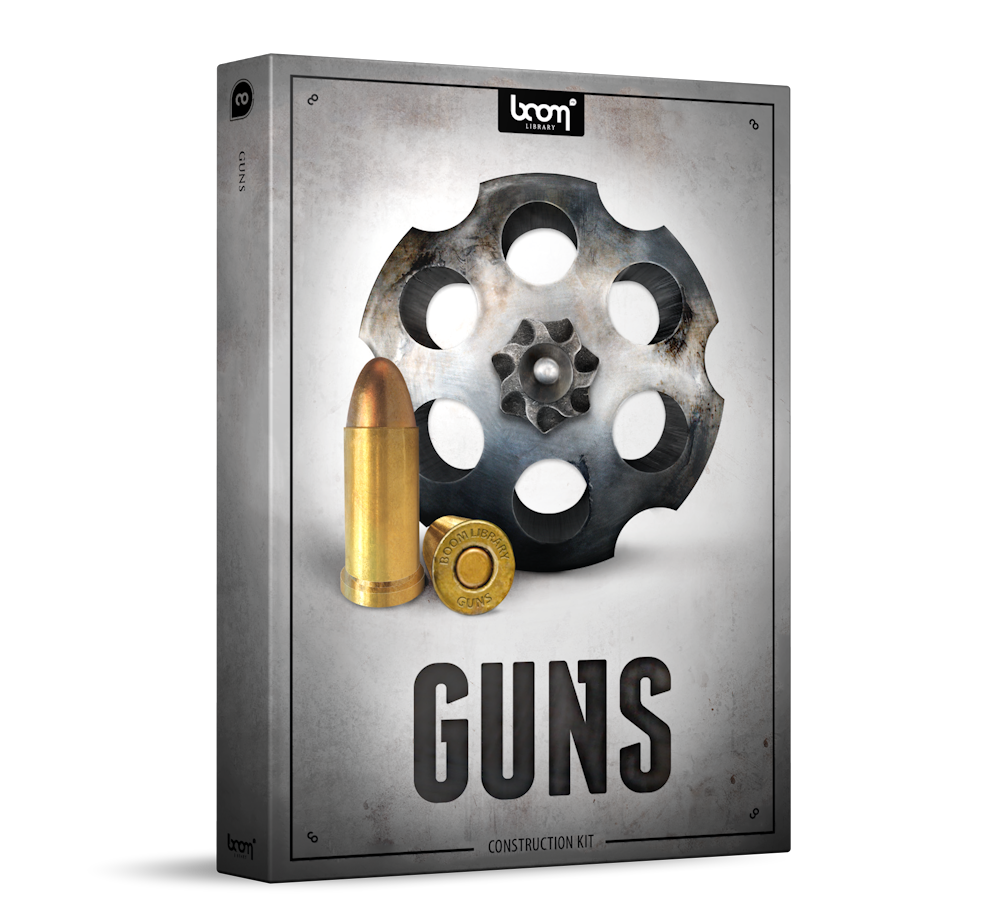 Guns Sound Effects Library Product Box