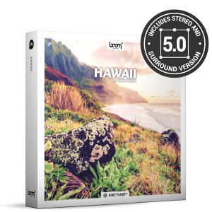 Hawaii Nature Ambience Sound Effects Library Product Box