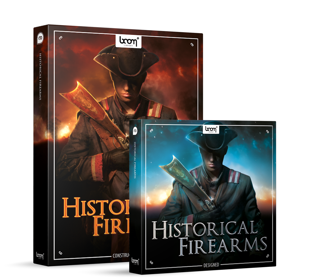Historical Firearms Sound Effects Library Product Box