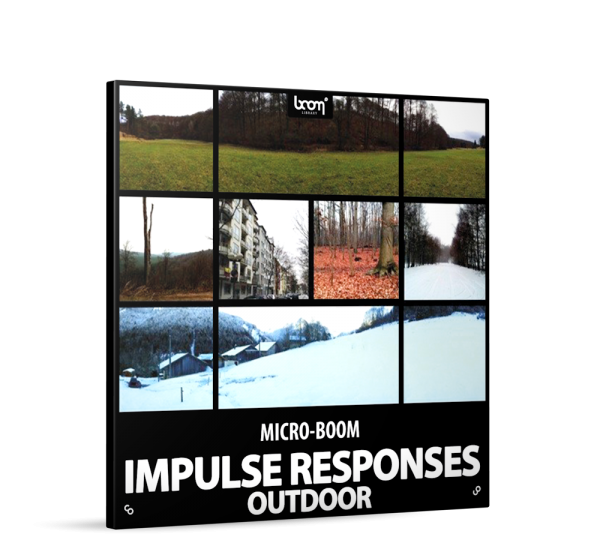 Outdoor Impulse Responses Sound Effects Library Product Box