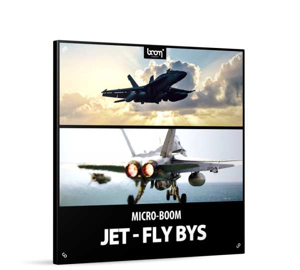 Jet-FlyBys Sound Effects Library Product Box