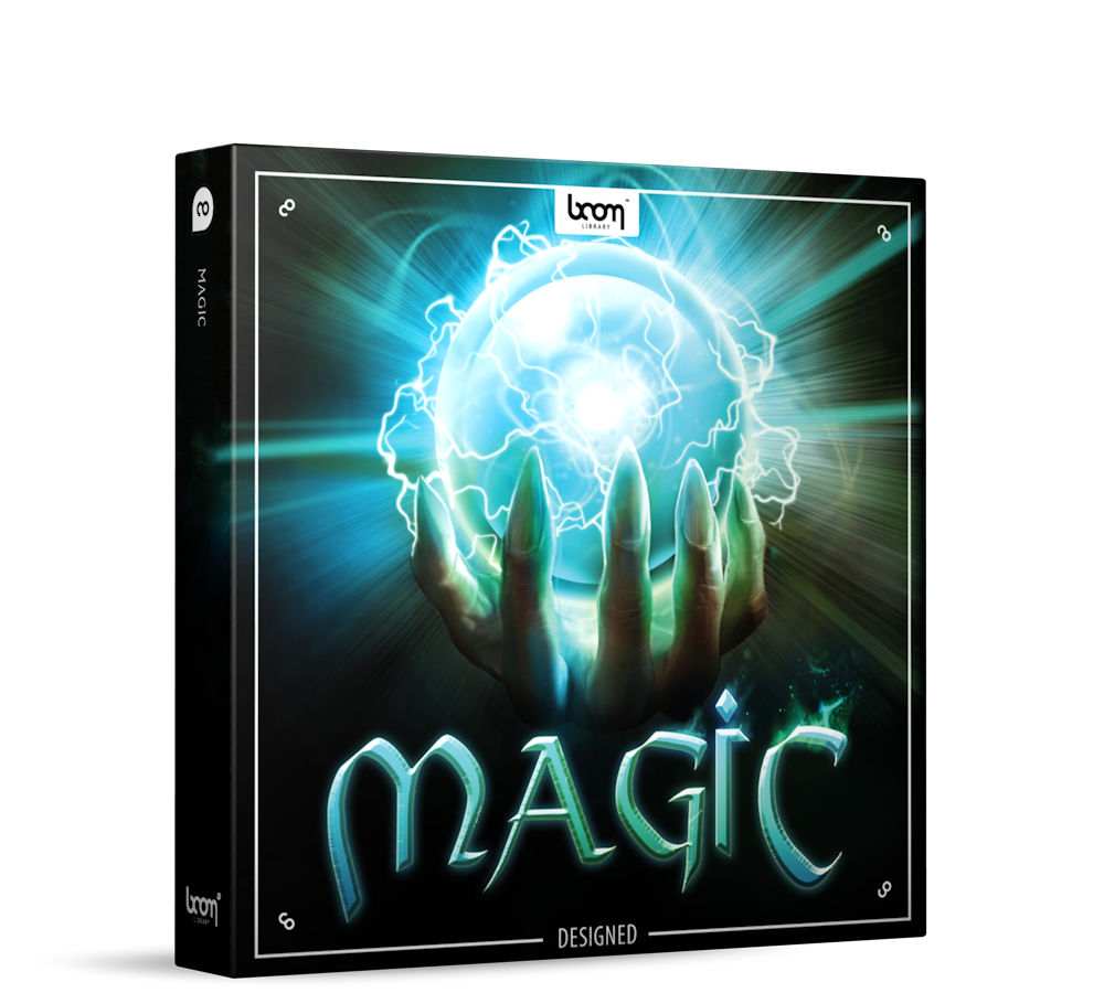 Magic Sound Effects Library Product Box