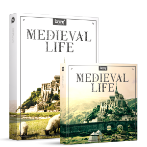 Medieval Life Sound Effects Library Product Box