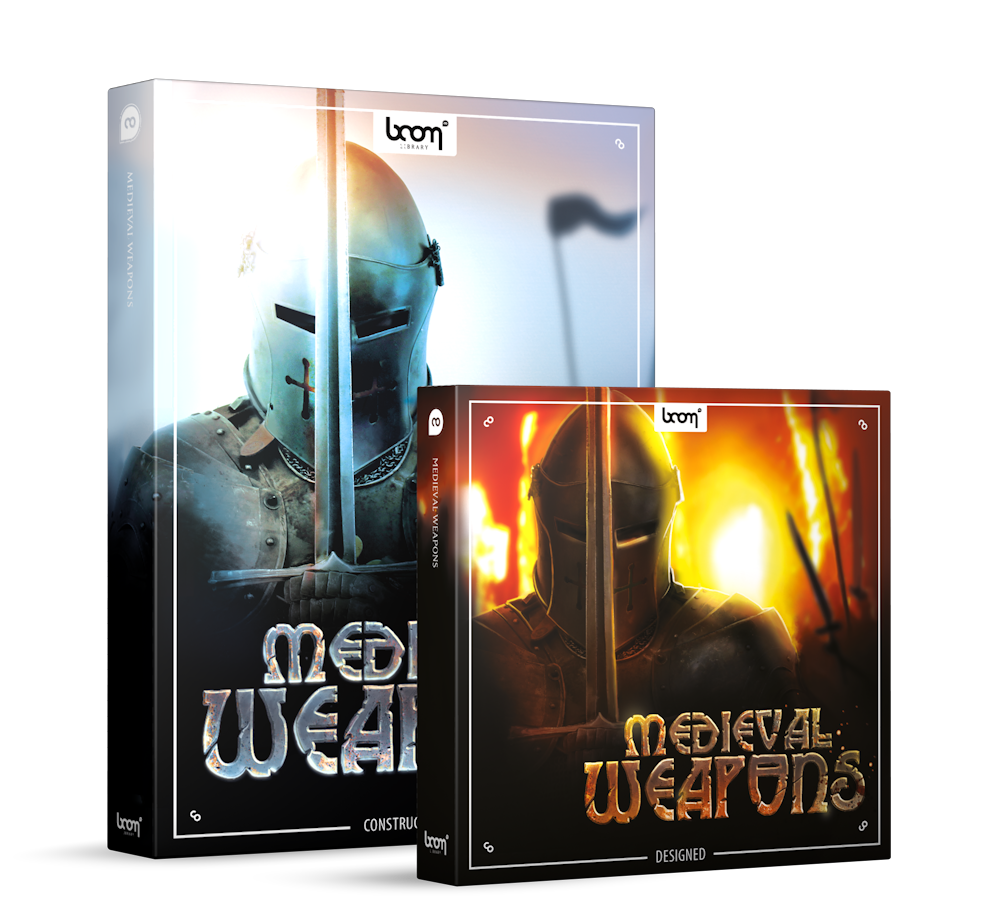 Medieval Weapons Sound Effects Library Product Box