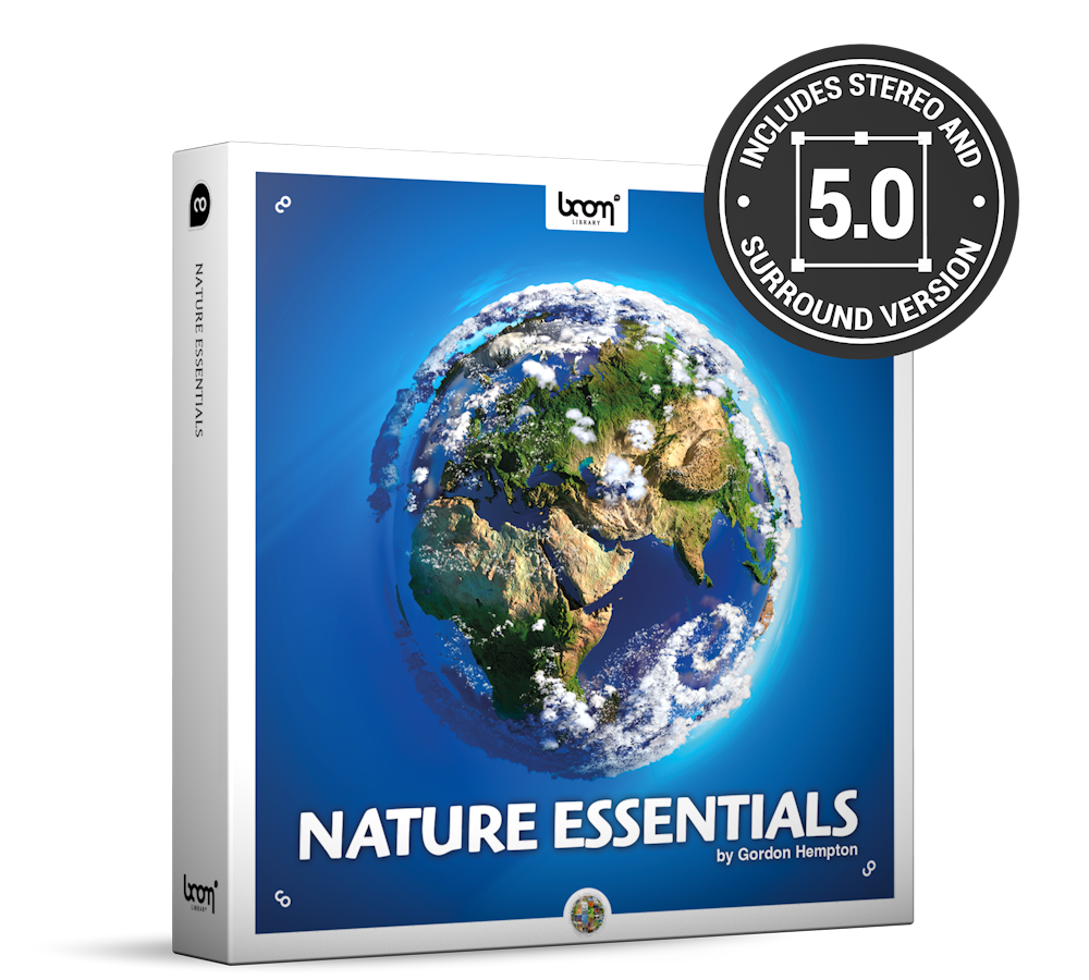 Nature Essentials Nature Ambience Sound Effects Library Product Box