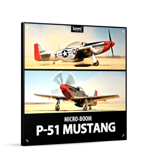 P51 Mustang Sound Effects Library Product Box