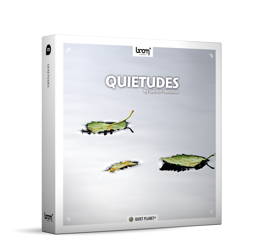 Quietudes Nature Ambience Sound Effects Library Product Box