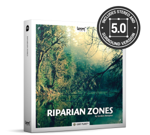Riparian Zones Nature Ambience Sound Effects Library Product Box