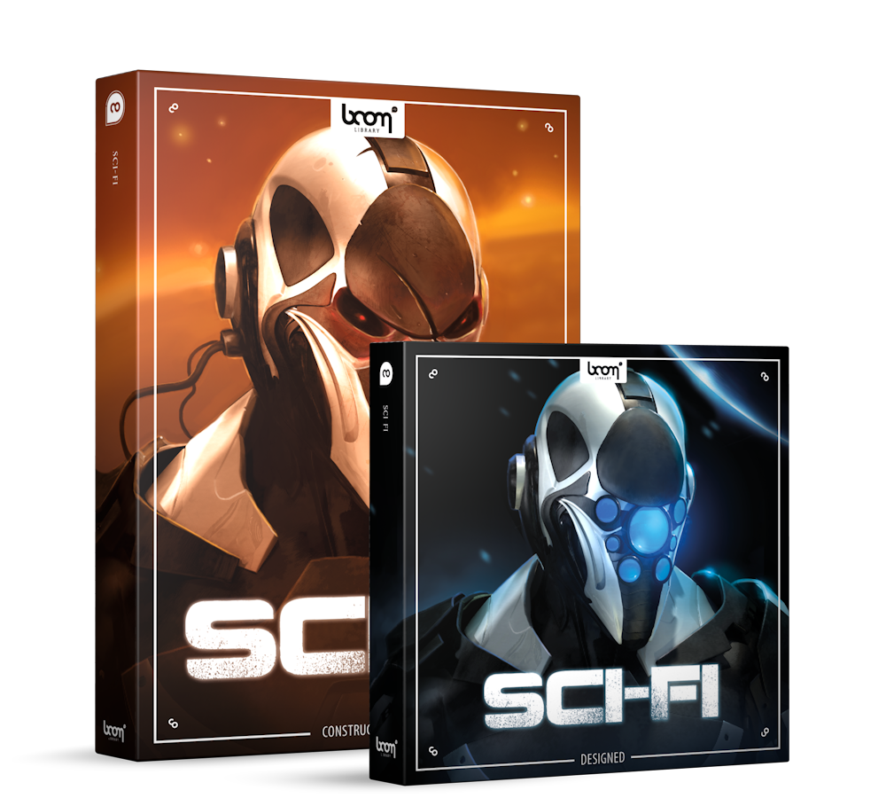 Sci-Fi Sound Effects Library Product Box