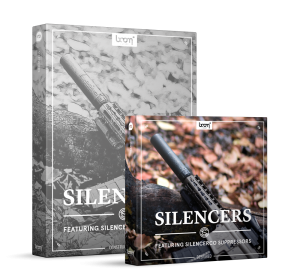 Silencers Sound Effects Library Product Box