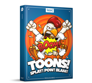Toons Sound Effects Library Product Box